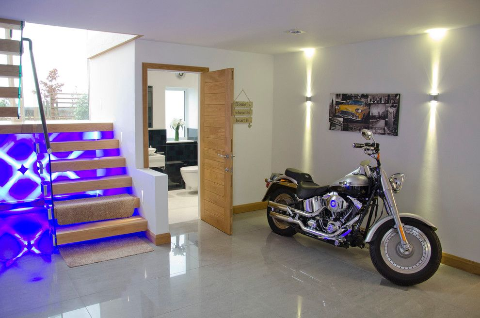 Atlanta Harley Davidson for a Contemporary Spaces with a Contemporary and Smith by Oxford Kitchens Ltd