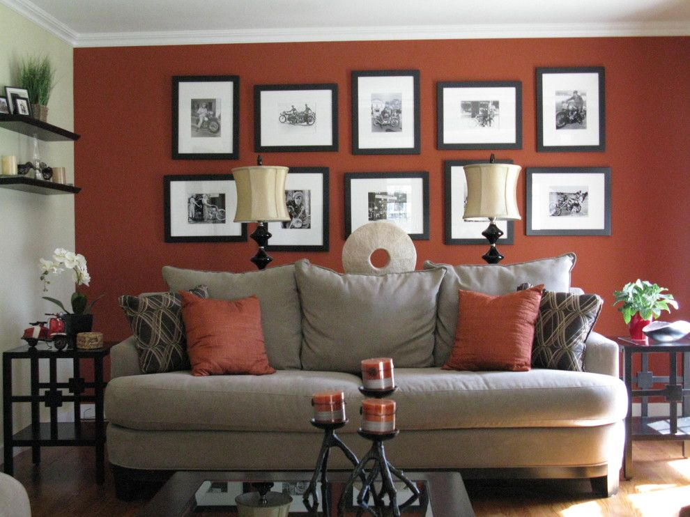 Autumn Glen Apartments for a Contemporary Living Room with a Art Arrangement and Shoshana by Shoshana Gosselin