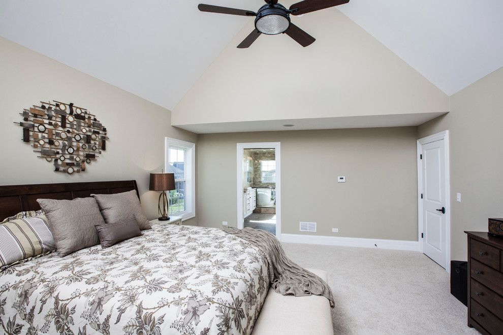 Avanti Furniture for a Craftsman Bedroom with a 7 Inch Baseboard and the Glens of Connemara Model Home by 5th Avenue Construction,Inc