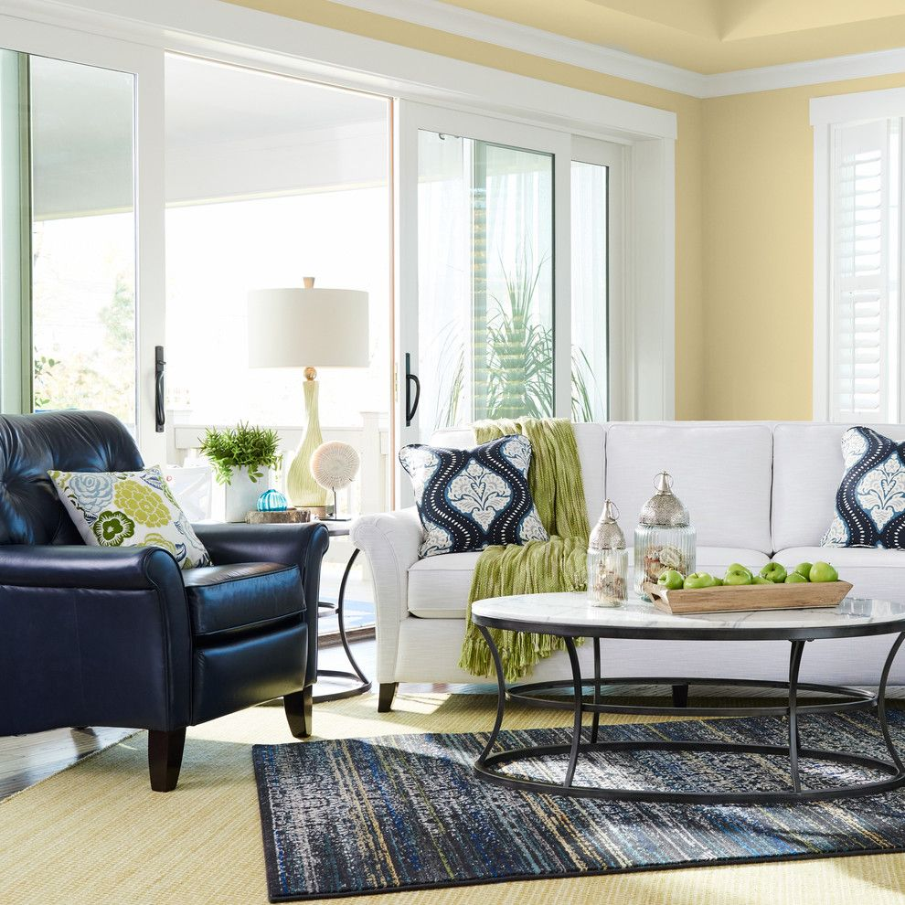Avanti Furniture for a Traditional Living Room with a White Trim and La-Z-Boy by La-Z-Boy