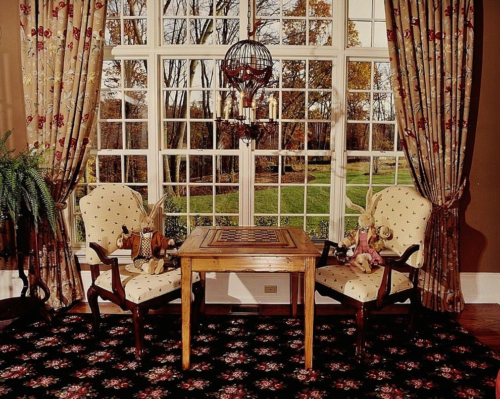 Axminster Carpet for a Traditional Family Room with a Traditional and Ely Farm I by Delier & Delier