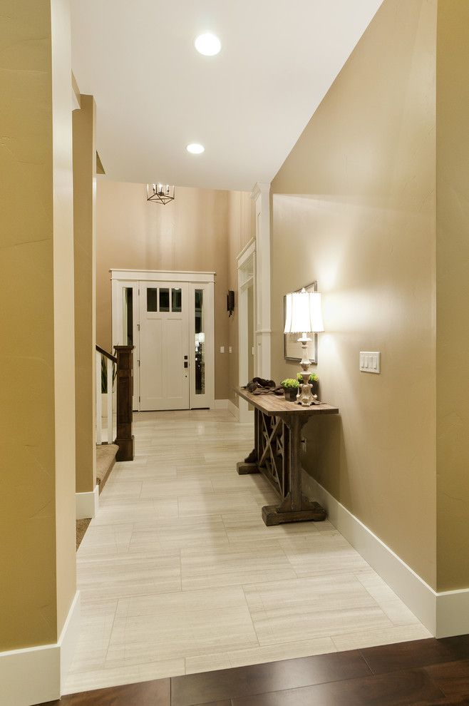 Az Tile Tempe for a Craftsman Hall with a Utah Homes and Modified Telluride by Candlelight Homes by Candlelight Homes
