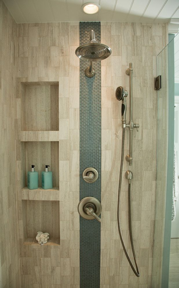 Az Tile Tempe for a Transitional Spaces with a Shower and Hgtv's House Hunters Renovation Master Suite by Sh Interiors