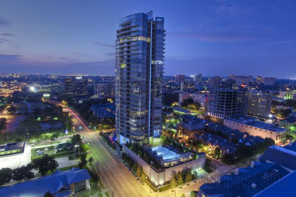 Azure Dallas for a Modern Exterior with a Azure Luxury Condos and Azure by Highrises.com of Dallas