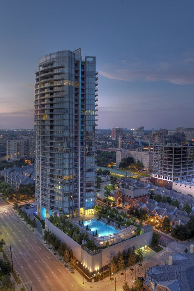 Azure Dallas for a Modern Exterior with a Condos and Azure by Highrises.com of Dallas