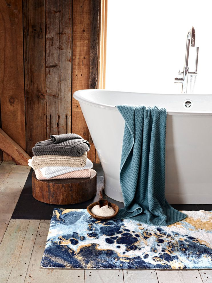 Back Page San Francisco for a Contemporary Bathroom with a Contemporary and Abyss Bath Collection by Bloomingdale's