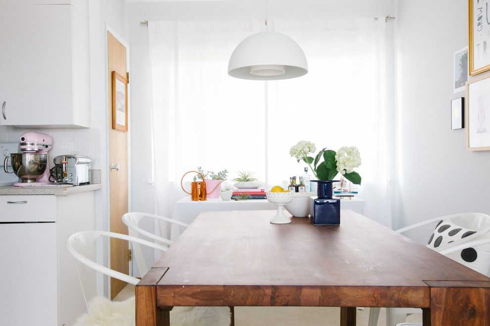 Back Page San Francisco for a Transitional Dining Room with a Michael Graves Toaster and an Apartment with a View in San Francisco by Nanette Wong