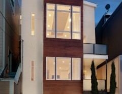 Backpage San Francisco for a Contemporary Exterior with a Wood Siding and Elsie Street by Rossington Architecture
