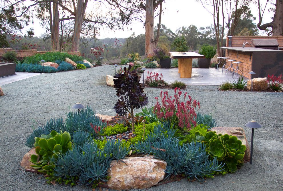 Backpage San Luis Obispo for a Contemporary Landscape with a Outdoor Kitchen and Wilkes Residence by All Seasons Gardening and Landscaping
