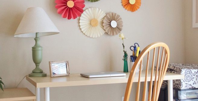 Bagcraft Papercon for a Eclectic Home Office with a Birch Finish and Dallas, TX: Martha Harms by Sarah Greenman