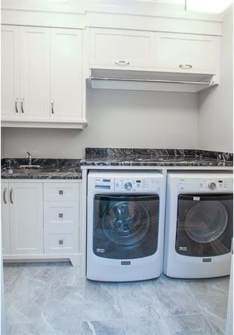 Baid for a  Laundry Room with a Custom and 87 Asv by Alyssa Wiebe, Baid