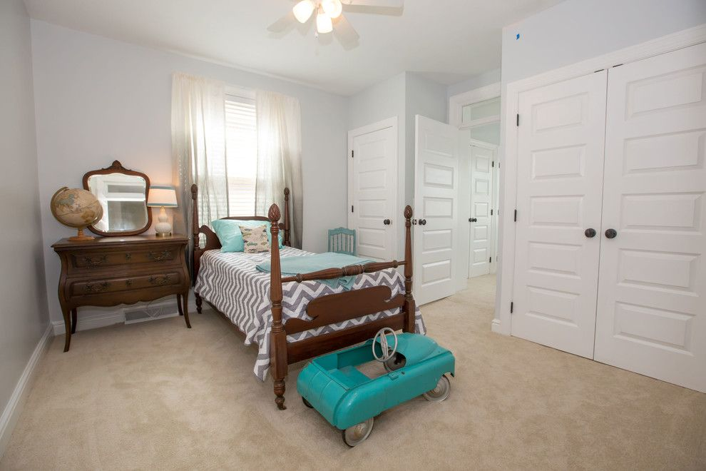 Baileys Furniture for a Transitional Bedroom with a Furniture Arrangement and Bailey Ave by Picket Design
