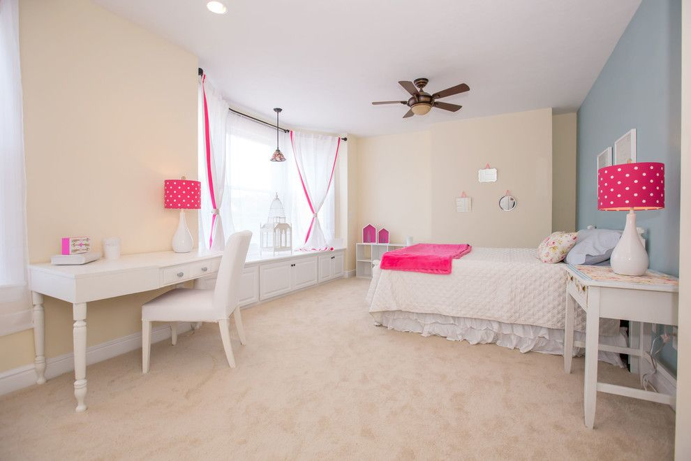 Baileys Furniture for a Transitional Bedroom with a Homestaging to Sell and Bailey Ave by Picket Design