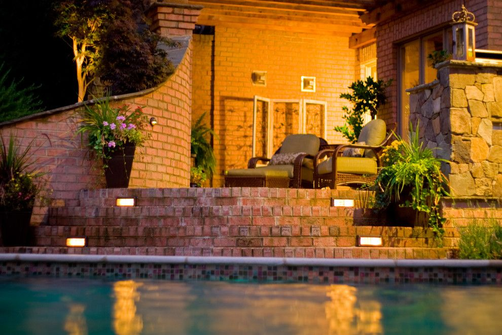 Ballantyne Spa for a Tropical Spaces with a Pools with Waterfall and Ballantyne Tropical Oasis by Coogan's Landscape Design