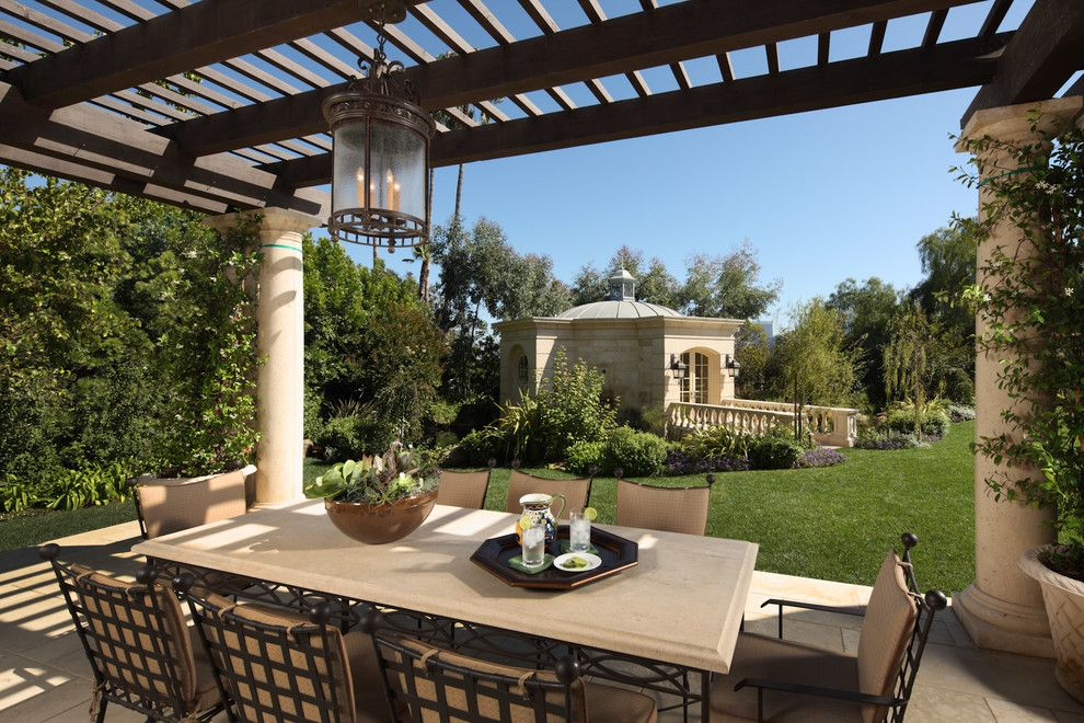 Ballenisles Country Club for a Traditional Patio with a Outdoor Dining and Los Angeles Country Club Estate   Beverly Hills by Lafia/arvin, a Design Corporation