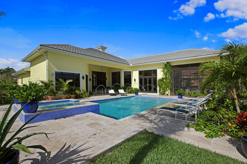 Ballenisles Country Club for a Tropical Pool with a Ceiling Fan and Ibis Golf & Country Club by Dreamstar Custom Homes