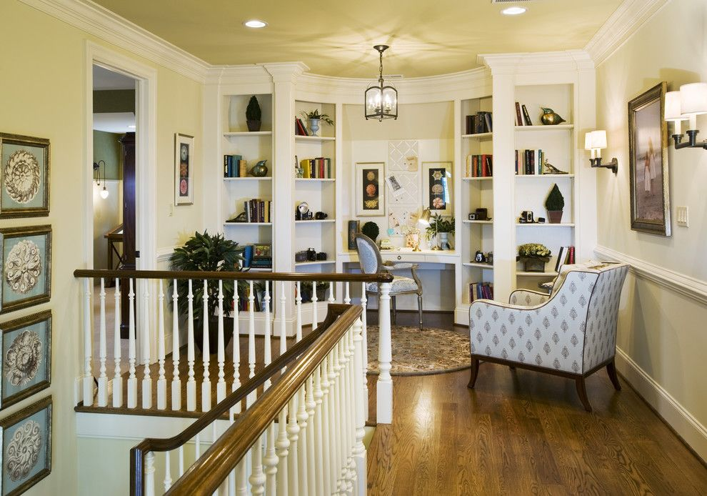 Baluster Spacing for a Traditional Staircase with a Balusters and Treymore by Gacek Design Group, Inc.
