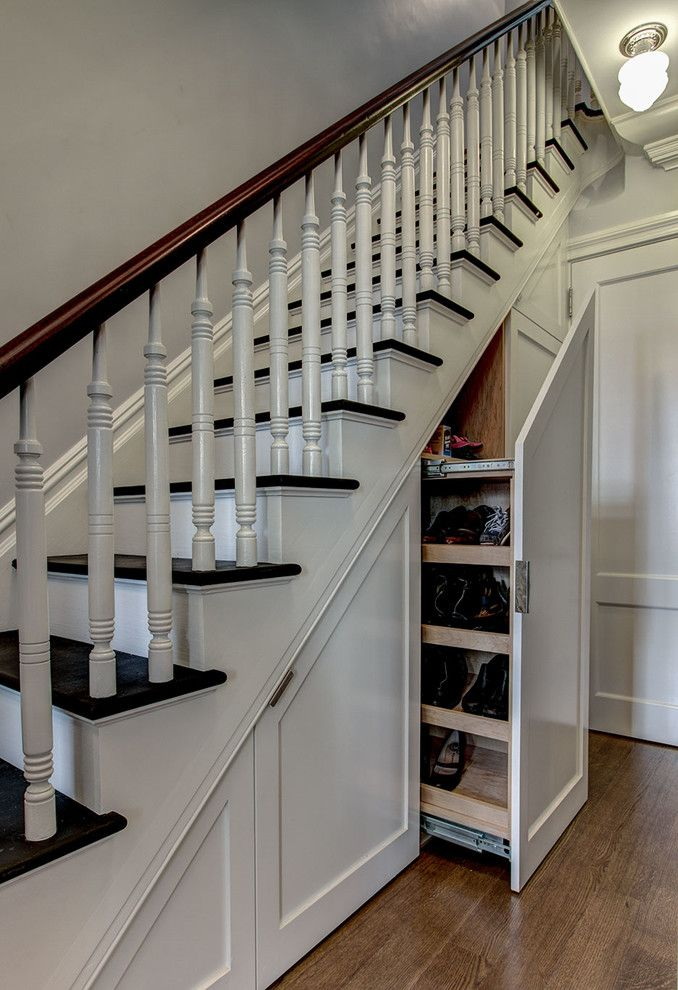 Baluster Spacing for a Traditional Staircase with a Brooklyn and Brooklyn Townhouse by Ben Herzog