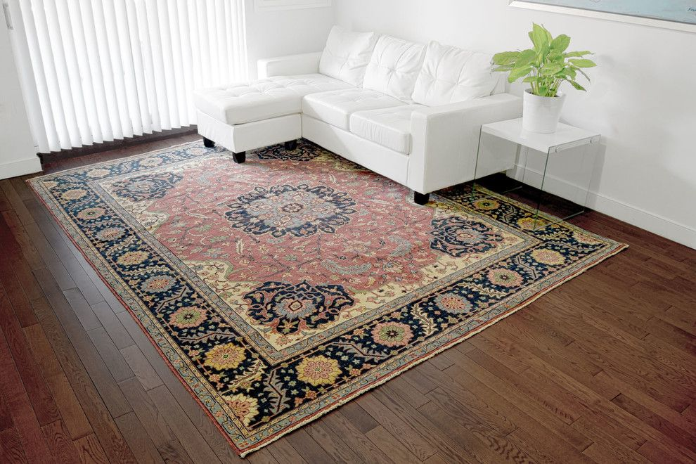 Bamboo Sherman Oaks for a Contemporary Living Room with a Vertical Blinds and Collections by 1800 Get a Rug