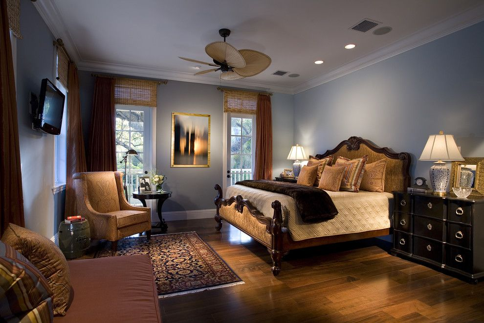 Bamboo Sherman Oaks for a Traditional Bedroom with a Dresser and Architectural and Interior Photography by Craig Denis
