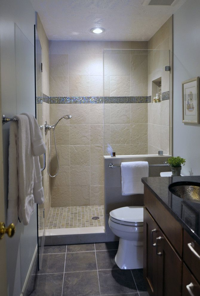 Bar Method Oakland for a Contemporary Bathroom with a Contemporary and Gorgeous Hall Bathroom by Summit Design Remodeling, Llc