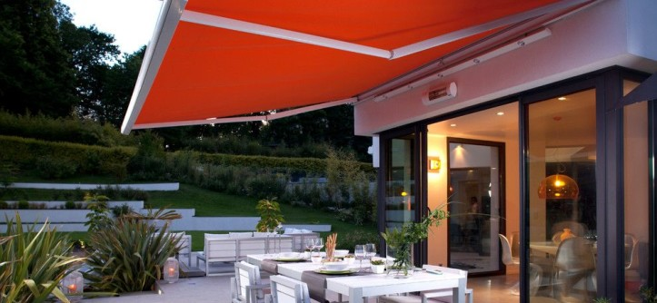 Barrow Furniture for a Modern Patio with a Outdoor Furniture and Somfy by Somfy Systems