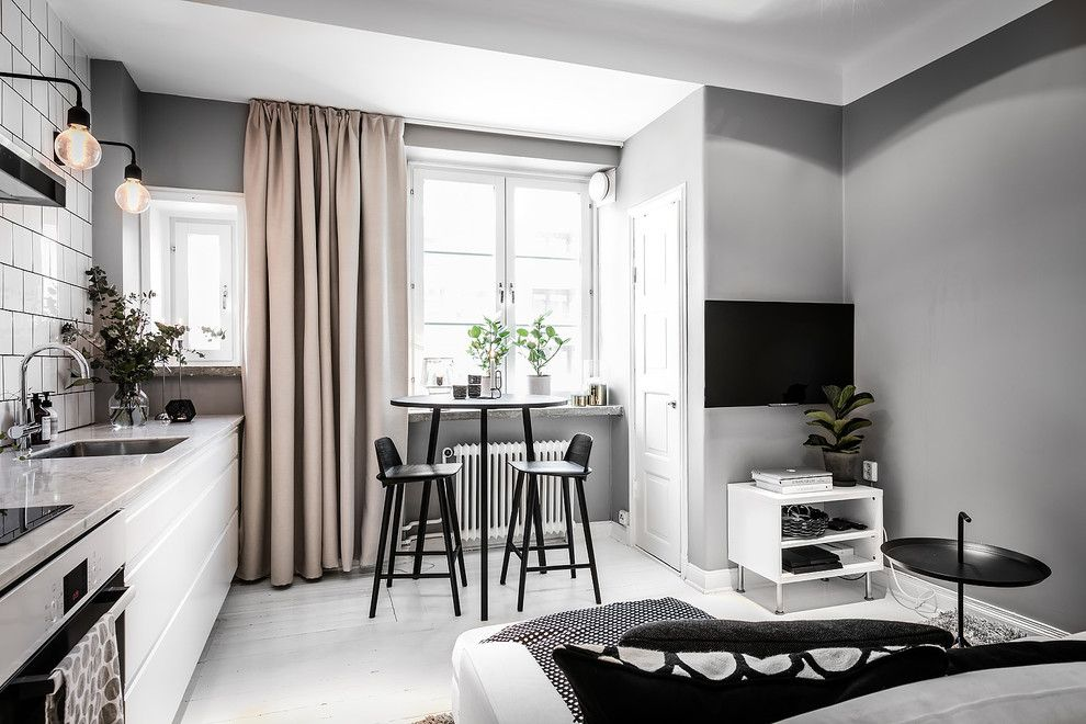 Barstol for a  Spaces with a Muuto and Kök Och Vardagsrum by Moodhouse Interiör