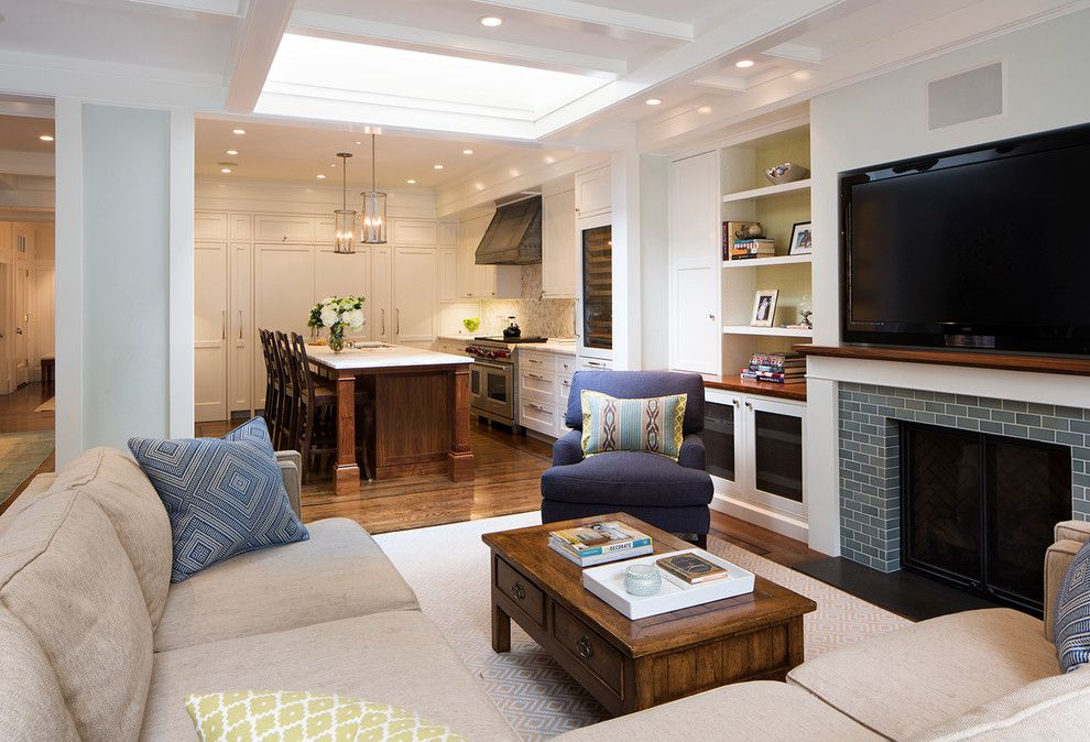Barstol for a Transitional Family Room with a Commercial and Pacific Heights by Verner Architects