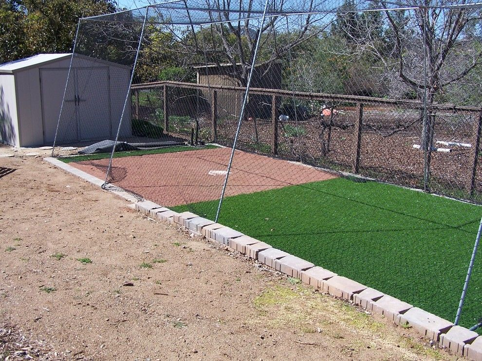 Batting Cage Miami for a Traditional Exterior with a Sports and Accessories by Full Circle Design & Remodeling