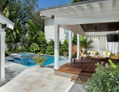 Bayfair for a Transitional Pool with a Transitional and Bayfair Homes by Bayfair Homes