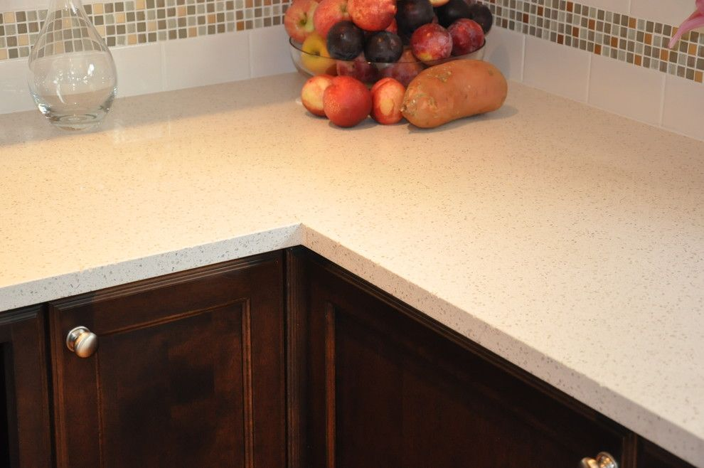 Baywolf for a Traditional Kitchen with a Chroma Soulid Surface Counter and West Seattle by Baywolf Dalton, Inc.
