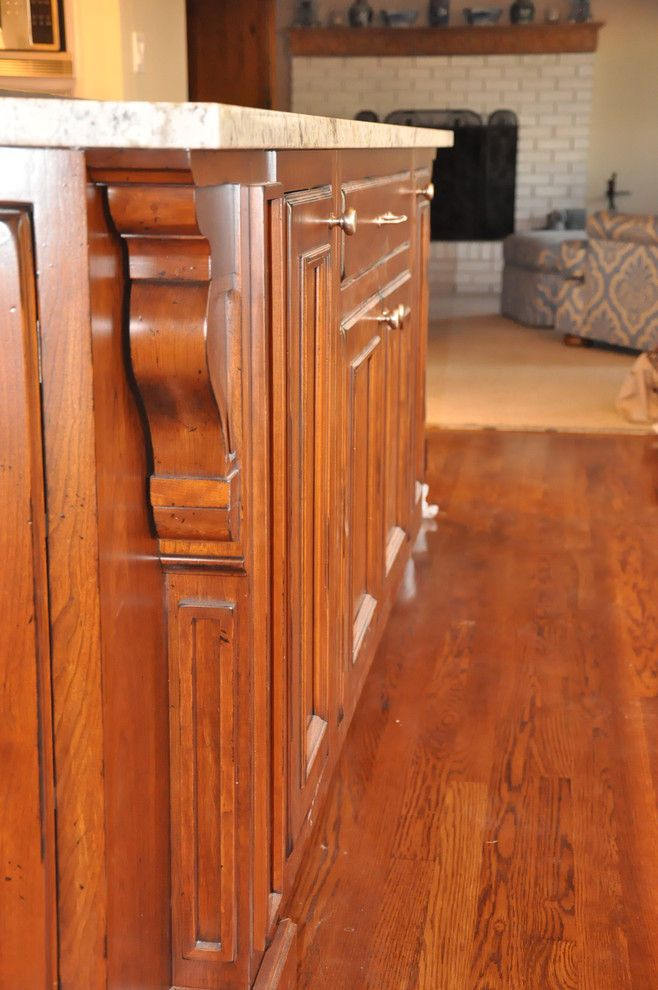 Baywolf for a Traditional Spaces with a Curved Cabinet and Webster's Point by Baywolf Dalton, Inc.