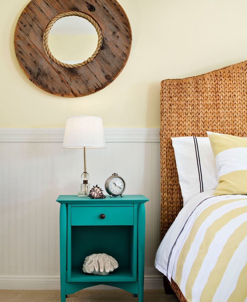 Beach Cottages San Diego for a Beach Style Bedroom with a Coastal and Bayard Street by Cm Natural Designs