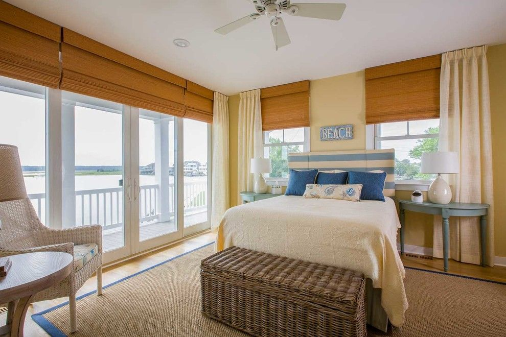 Beach House Hermosa Beach for a Beach Style Bedroom with a Double Doors and Newhouse by Integrity Windows and Doors