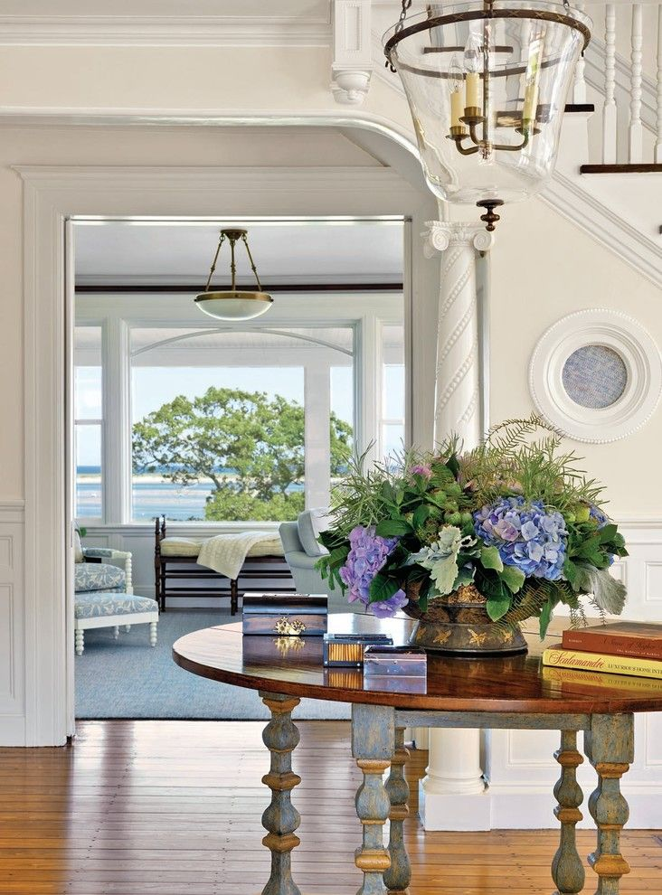 Beach House Hermosa Beach for a Beach Style Entry with a Beach House and Chatham Residence by Kotzen Interiors, Llp