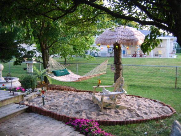 Beach House Hermosa Beach for a Tropical Landscape with a Adirondack Chair and Backyard Beach by Tennischik