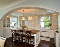 Beach Realty Nc for a Traditional Kitchen with a Chrome Faucet and 2009 Showcase Home on Park Alley by Witt Construction