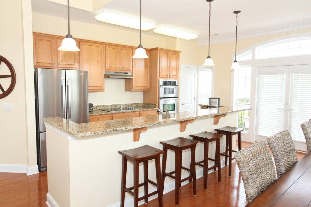 Beach Realty Nc for a Traditional Kitchen with a Coastal and Coquina Beach  Kure Beach, Nc by Design Results