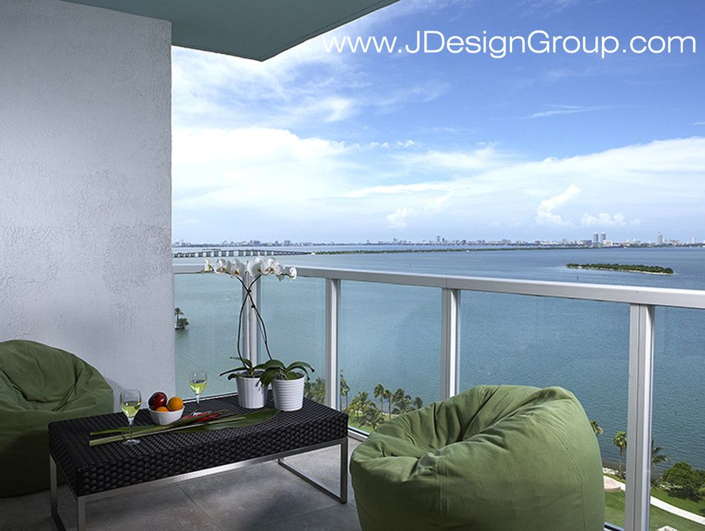 Bean Group Nh for a Contemporary Patio with a Pinecrest Decorator and J Design Group Interior Designers   Miami Beach   South Beach by J Design Group   Interior Designers Miami   Modern