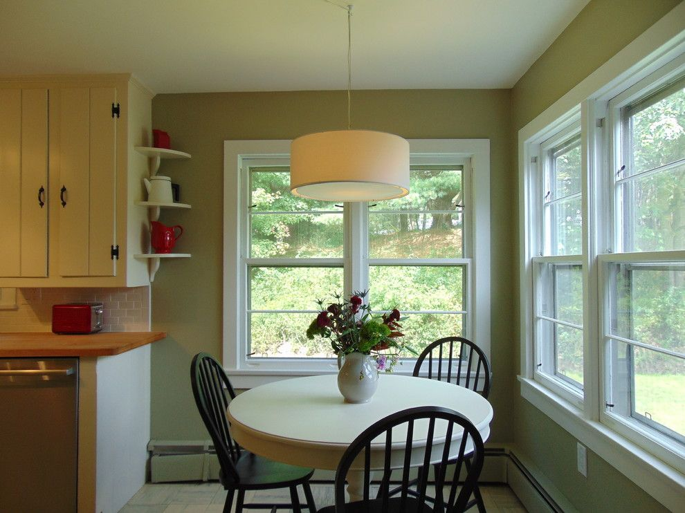Bearsville Ny for a Farmhouse Kitchen with a Subway Tiles and Bearsville, Ny Staging & Redesign by Erik Forster Design