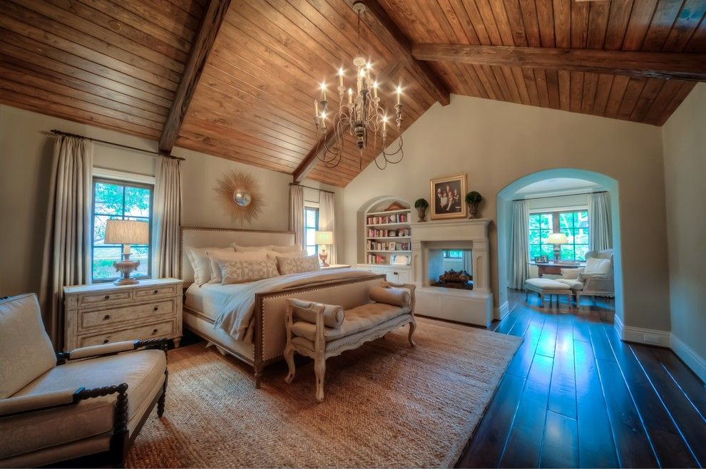 Beazer Homes Houston for a Traditional Bedroom with a Pecky Cypress and Hunters Trail by Jewel Box Homes