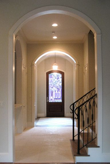 Beazer Homes Houston for a Traditional Entry with a Traditional and an English Tudor Home by Parker Stuckey Residential Design