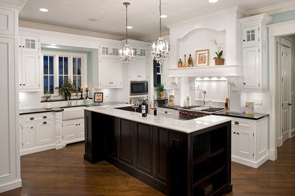 Beazer Homes Reviews for a Traditional Kitchen with a Wood Flooring and Oakley Home Builders by Oakley Home Builders