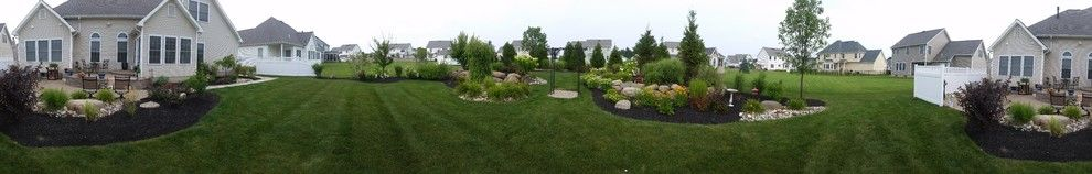 Belden Brick for a Traditional Landscape with a Landscaping and Beautiful Patio and Landscape Retreat by Hansens Landscaping