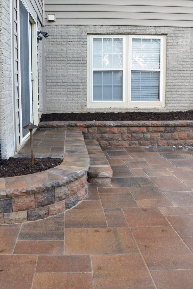 Belgard Hardscapes for a  Patio with a After and Patio   Ft. Washington, Md by the Sharper Cut, Inc. Landscapes