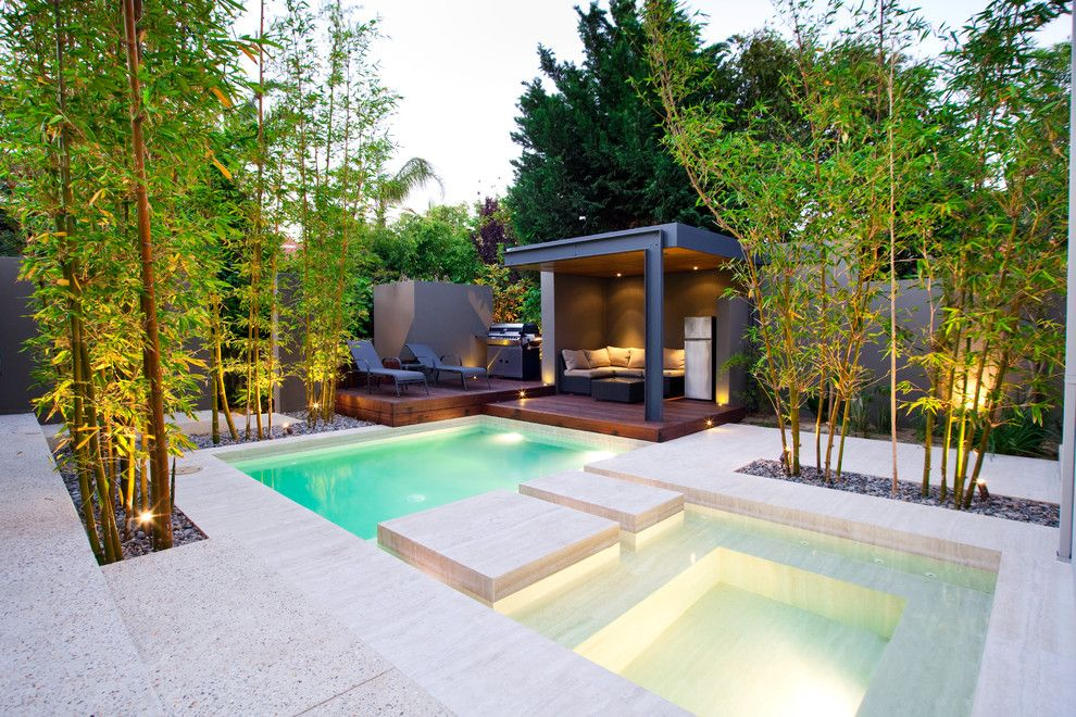 Bellagio Day Spa for a Contemporary Pool with a Pool Lounge and Attadale Residence by Phase3 Pools & Landscapes