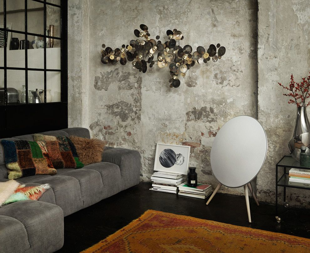 Beoplay A9 for a Eclectic Living Room with a Home Audio and Home Audio   Beoplay by Bang & Olufsen