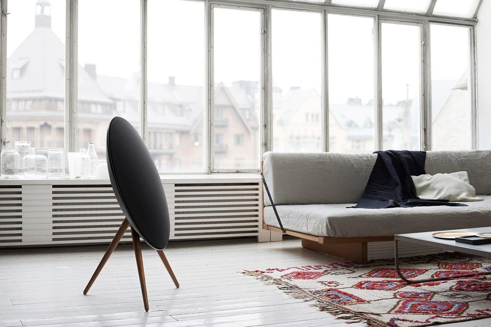 Beoplay A9 for a Industrial Living Room with a Home Speakers and Home Audio   Beoplay by Bang & Olufsen