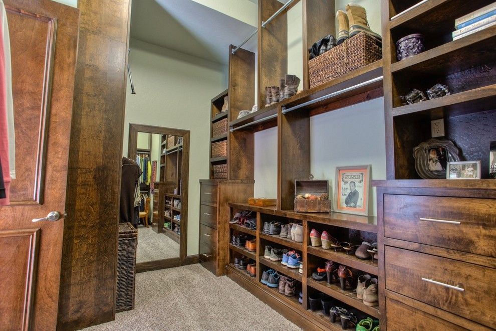 Berkshire Hathaway Real Estate Ct for a Rustic Closet with a for Sale and 2224 Silver Spur Ct Edmond, Oklahoma   Wyatt Poindexter Kw Elite by Wyatt Poindexter of Keller Williams Elite