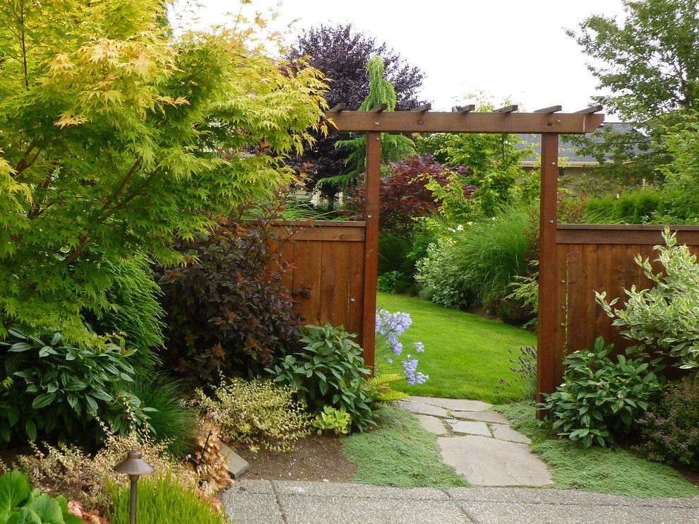 Berns Garden Center for a Contemporary Landscape with a Pathway and Kirkland Gardens by Simply Garden Design Llc